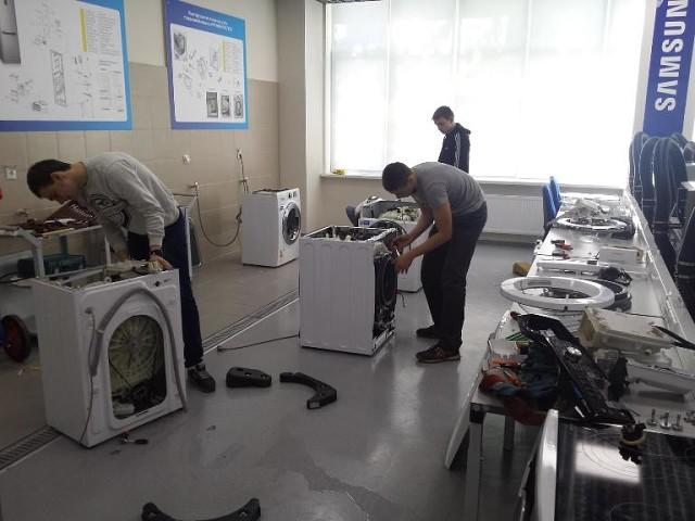 Помещение для ремонта стиральных машин