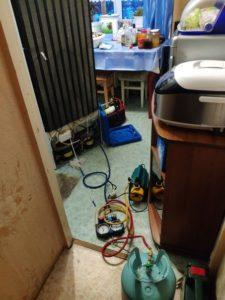 заправка холодильника фреоном на дому